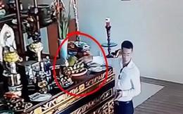 Danh tính kẻ ăn mặc bảnh bao lấy trộm 200 nghìn đồng tiền công đức tại chùa ở Vĩnh Phúc