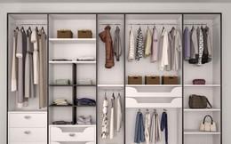 Mách bạn thiết kế tủ quần áo chuẩn chỉnh cho từng người trong gia đình