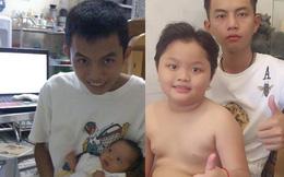 Ông bố 28 khoe ảnh chụp với con trai 8 tuổi: Học xong lớp 11 mình lấy vợ rồi sinh con thôi