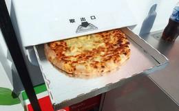 Ở Nhật Bản có cả máy bán pizza tự động, chẳng cần lo cửa hàng đóng cửa, cứ ra mua là có
