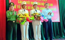 Công an Đà Nẵng bổ nhiệm hai Phó giám đốc mới