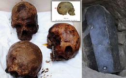 Hé lộ danh tính ba bộ hài cốt và hiện vật hiếm thấy trong cỗ quan tài đá đen gần 30 tấn
