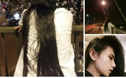 Vì mái tóc dài, chàng trai vướng không ít hiểu lầm, bị mọi người chỉ trỏ bàn tán