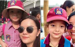 Các sao Việt nô nức đưa con cưng đến trường ngày đầu năm học mới