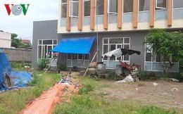Trạm y tế tiền tỷ bỏ hoang ở Hà Nội