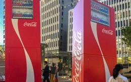 Coca-cola chào đón Olympic Tokyo 2020 bằng máy bán hàng tự động cao 3 mét rưỡi, ai bật đủ cao sẽ có đồ uống miễn phí