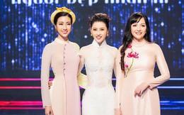 Á hậu Thái Như Ngọc đọ sắc bên Hoa hậu Đỗ Mỹ Linh và Thiên Nga