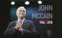 """John McCain: Người gọi Biển Đông là """"East Sea"""" và ủng hộ Mỹ bỏ cấm vận vũ khí với Việt Nam"""