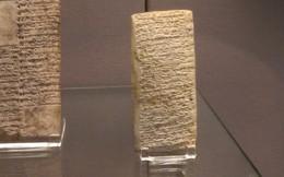 Sự thật thú vị: Từ cách đây 3.800 năm, khách hàng đã biết viết review chê sản phẩm kém chất lượng trên một phiến đá