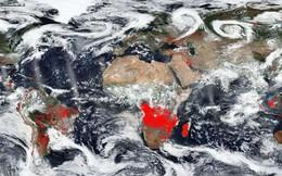 Bức hình gây ám ảnh của NASA: Đây là những khu vực mỗi năm đều ngập trong lửa trên Trái đất