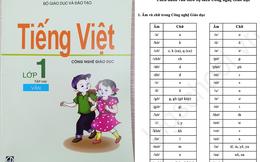 Đánh vần Tiếng Việt theo sách Công nghệ giáo dục như thế nào?