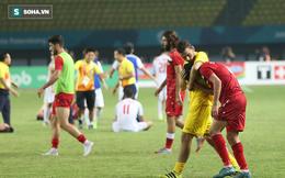 Cầu thủ Syria gục ngã, bật khóc giữa màn ăn mừng của U23 Việt Nam
