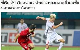 """Đằng sau lời chúc, báo Thái Lan """"chạnh lòng"""" vì chiến tích lịch sử của U23 Việt Nam"""