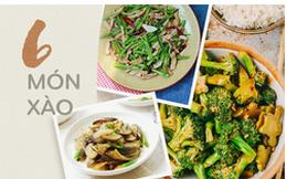 6 món rau xào ngon miệng, làm rất đơn giản để bạn chuẩn bị cho bữa cơm chiều
