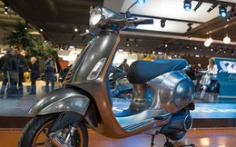 Xe máy điện của Vespa sẽ được bán ngay cuối tháng 10