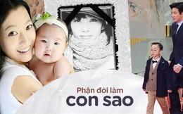 Phận đời con của sao: Người nổi tiếng khắp châu Á, kẻ áp lực tới mức tự tử