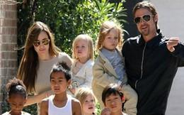 Cả sáu người con của Angelina Jolie đều muốn sống cùng Brad Pitt?