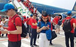Dùng chuyên cơ đón tuyển Olympic Việt Nam về nước
