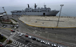 Tàu đổ bộ có tải trọng 21.000 tấn của Anh tới sắp thăm Việt Nam