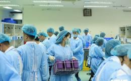 Ảnh: Bên trong 'phân xưởng' điều chế máu lớn nhất miền Bắc