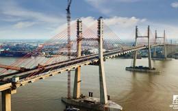Một ngày trước khi thông xe, nhìn toàn cảnh cao tốc Hạ Long - Hải Phòng và cầu Bạch Đằng gần 15 nghìn tỷ từ trên cao