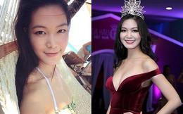 Mặt mộc và vẻ gợi cảm của Hoa hậu Việt Nam tuyên bố không phẫu thuật thẩm mỹ