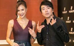 Thần đồng Piano Lang Lang thân thiết bên MC Phương Mai