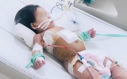 Sốc: Bé gái 10 tháng tuổi thủng thực quản, phổi kháng tất cả kháng sinh