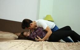Tam Triều Dâng được đạo diễn Lê Minh chỉ bảo tận tình trước mỗi cảnh quay bị cưỡng hiếp
