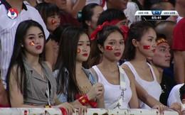 Những gương mặt trên khán đài SVĐ Mỹ Đình khiến dân mạng chụp màn hình liên tục