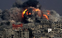 Dải Gaza nóng hầm hập, Israel - Hamas giao tranh dữ dội bằng hàng trăm tên lửa