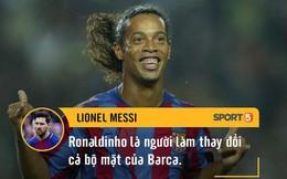 Bạn có biết những cầu thủ giỏi nhất thế giới nói gì về Ronaldinho