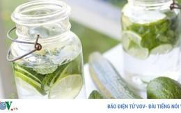 Lợi ích khi uống nước dưa chuột vào buổi sáng