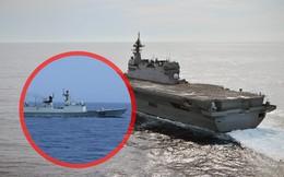 """Rời diễn tập với Mỹ, tàu khu trục Nhật bị chiến hạm Trung Quốc """"bám riết"""" trên Biển Đông"""