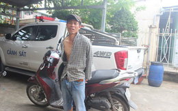 Bắt nóng kẻ đột nhập nhà dân, trộm xe SH lúc rạng sáng