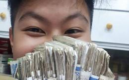 """Màn """"gọi vốn"""" gây bão MXH: Đi xin 1.000 bạn học mỗi người 1k, nam sinh thu về 1 triệu đồng!"""