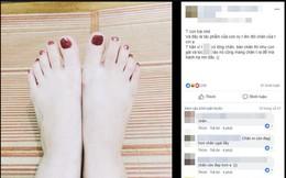 """Sở hữu đôi chân """"nuột"""" như gái đôi mươi, chàng trai kêu trời vì suốt ngày bị người yêu đem ra tập sơn móng chân"""