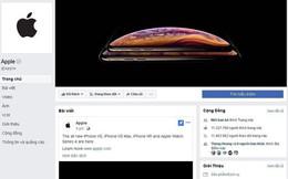 Lập fanpage từ năm 2013, đến bây giờ Apple mới đăng được một bài viết trên Facebook