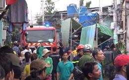 Gần 100 cảnh sát chữa cháy tại công ty hóa chất ở Sài Gòn
