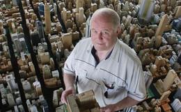 Mô hình thành phố mini siêu chi tiết được tạo nên bởi cụ ông 78 tuổi trong suốt hơn 65 năm