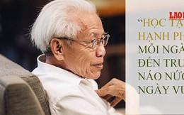 """Nhiều phụ huynh ủng hộ triết lý giáo dục """"đi học là hạnh phúc"""" của giáo sư Hồ Ngọc Đại"""