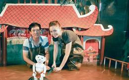 Người giữ hồn trung thu cho trẻ em với nghệ thuật múa rối nước