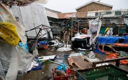 """Cảnh tượng """"như ngày tận thế"""" của siêu bão Mangkhut khi càn quét qua Philippines"""
