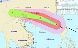 Dự báo thời tiết 16.9: Bão số 6 Mangkhut đe dọa vùng biển Vịnh Bắc Bộ, gây mưa lớn