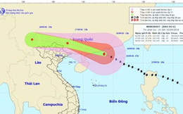 Dự báo thời tiết 17.9: Bão số 6 Mangkhut vào Trung Quốc suy yếu thành áp thấp nhiệt đới, Bắc Bộ Việt Nam mưa lớn