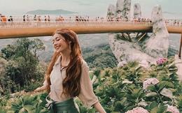 Công chúa tóc mây gốc Việt khoe ảnh du lịch toàn địa danh nổi tiếng ở Việt Nam, người thì xinh mà cảnh đẹp mê ly