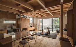 Gia đình có 3 con nhỏ vẫn sống thoải mái trong ngôi nhà phố chật hẹp ở Nhật nhờ thiết kế thông minh