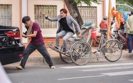"""Trung Ruồi đấu khẩu, dọa đánh Kiều Minh Tuấn trong phim """"Chú ơi đừng lấy mẹ con"""""""