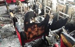 Cháy ở UBND xã thiệt hại 300 triệu đồng, báo cáo 580 triệu đồng