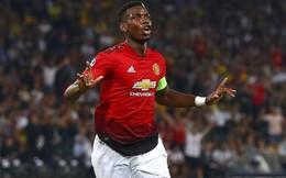 """Pogba 3 lần rực sáng, Man United """"cuốn phăng"""" đối thủ ngày ra quân Champions League"""
